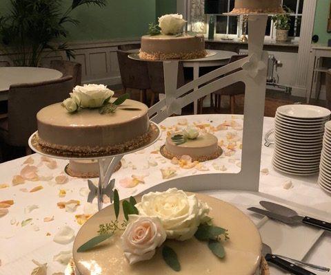 Bröllopstårta 25 aug 18